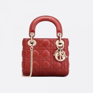 Dior Sienna Mini Lady Dior Bag