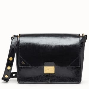 Fendi Black Large Kan U Bag