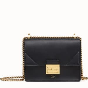 Fendi Black Mini Kan U Bag