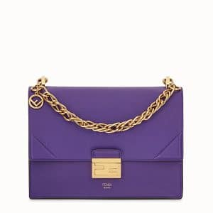 Fendi Purple Kan U Bag