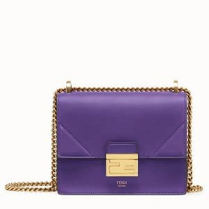 Fendi Purple Mini Kan U Bag