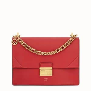 Fendi Red Kan U Bag
