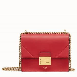 Fendi Red Mini Kan U Bag