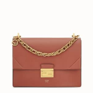 Fendi Rust Red Kan U Bag