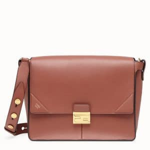 Fendi Rust Red Large Kan U Bag