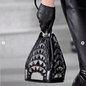 Louis Vuitton Black Chrysler Building Mini Bag