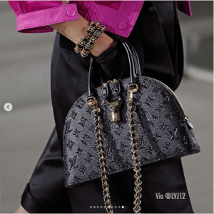 Louis Vuitton Black Monogram Alma Bag