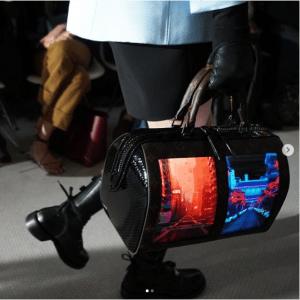 Louis Vuitton Black Python Canvas of the Future Speedy Bag