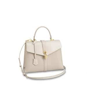 Louis Vuitton Creme Rose Des Vents MM Bag
