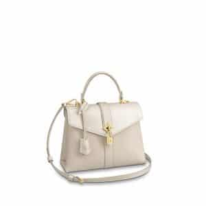 Louis Vuitton Creme Rose Des Vents PM Bag