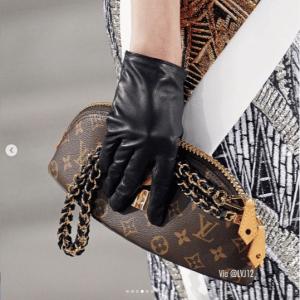 Louis Vuitton Monogram Canvas Mini Clutch Bag