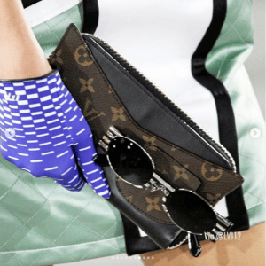 Louis Vuitton Monogram Canvas:Black Mini Clutch Bag