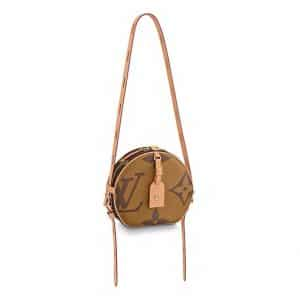 Louis Vuitton Monogram Giant Boite Chapeau Souple Bag