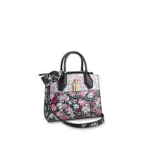 Louis Vuitton Pink/Blue Floral Print City Steamer Mini Bag