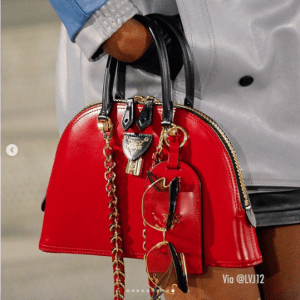 Louis Vuitton Red Alma Bag