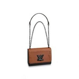 Louis Vuitton Tan Trompe L'Oeil Twist MM Bag