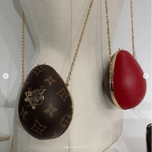Louis Vuitton Monogram Canvas Mini Œuf Bags