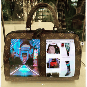 Louis Vuitton Canvas Of The Future Speedy Bag