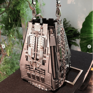Louis Vuitton Silver Empire State Building Mini Bag
