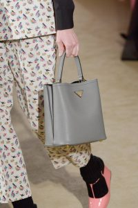 Prada Gray Tote Bag