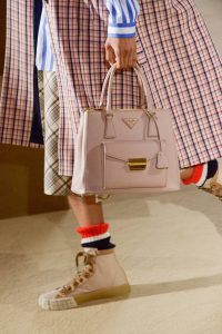 Prada Pink Top Handle Bag 1