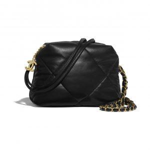 Chanel Black Small Bowling Bag