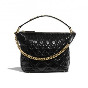 Chanel Black State-Of-The-Art Hobo Bag
