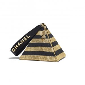 Chanel Black:Gold Pyramid Bag