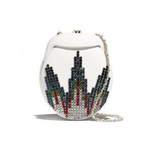 Chanel Multicolor Lambskin:Strass Evening Bag