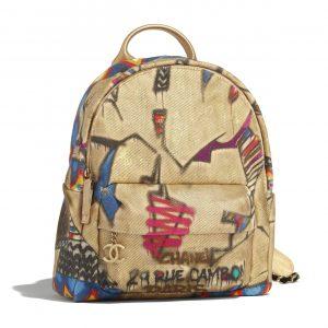 Chanel Multicolor Street Spirit Backpack Bag