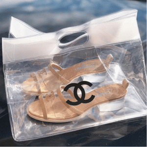 Chanel PVC Mules 2