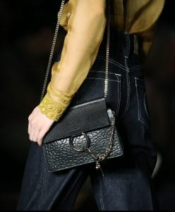 Chloe Black Faye Shoulder Bag - Resort 2020