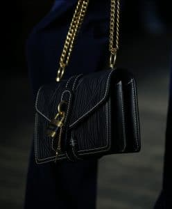 Chloe Black Flap Bag 2 - Resort 2020