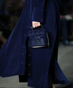 Chloe Blue Mini Top Handle Bag - Resort 2020