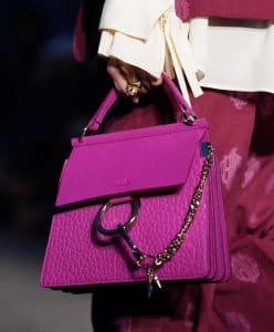 Chloe Fuchsia Faye Bag - Resort 2020