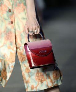 Chloe Red Degrade C Bag 2 - Resort 2020