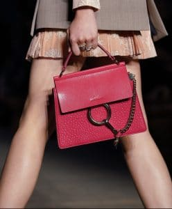Chloe Red Faye Bag 2 - Resort 2020