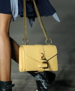 Chloe Yellow Flap Bag - Resort 2020