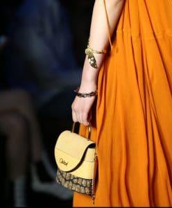 Chloe Yellow Mini Top Handle Bag 2 - Resort 2020