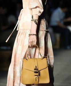 Chloe Yellow Top Handle Bag - Resort 2020