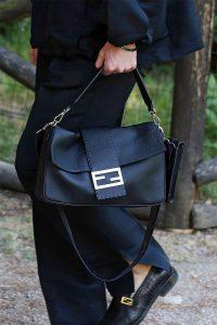 Fendi Black Baguette Bag 2 - Spring 2020