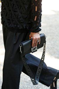 Fendi Black Baguette Bag - Spring 2020