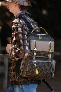 Fendi Brown Backpack Bag - Spring 2020