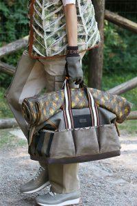 Fendi Brown Duffle Bag - Spring 2020