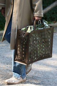 Fendi Brown Perforated Tote Bag 2 - Spring 2020