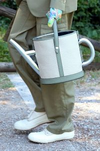 Fendi Light Gray Watering Can Bag - Spring 2020