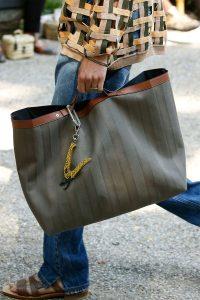 Fendi Olive Green Tote Bag - Spring 2020