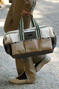 Fendi White/Beige Duffle Bag - Spring 2020
