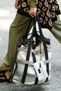 Fendi White/Black Tote Bag - Spring 2020