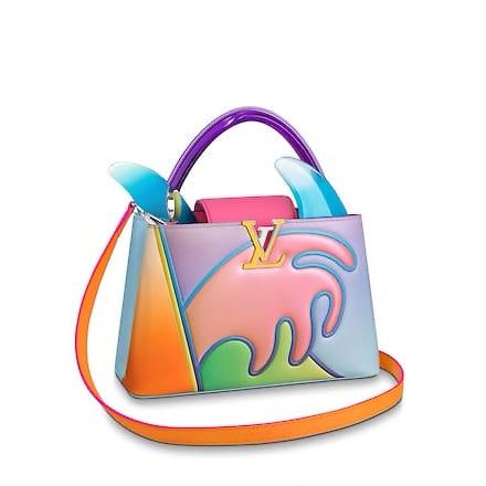 Louis Vuitton ArtyCapucines Alex Israel Bag